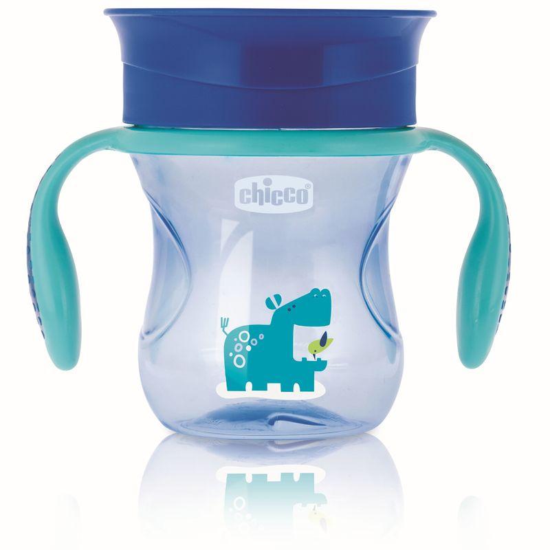 360° Perfect Cup itatópohár 12hó+ Kék