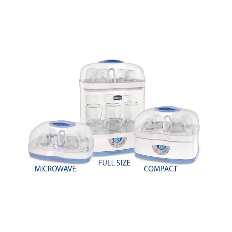 Chicco Steril Natural 3in1 elektromos és mikrohullámú gőzsterilizáló