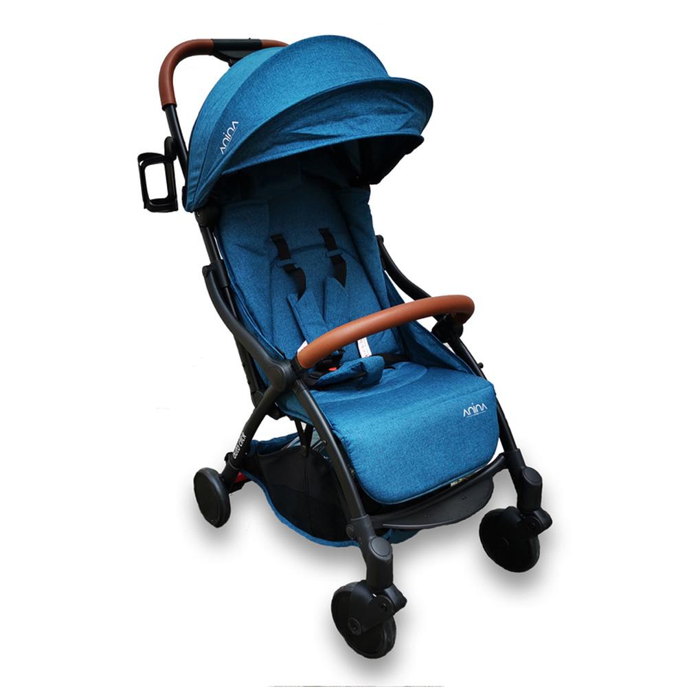 ANINA auto click sportbabakocsi – Kék