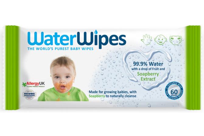 WaterWipes törlőkendő szappanbogyó kivonattal