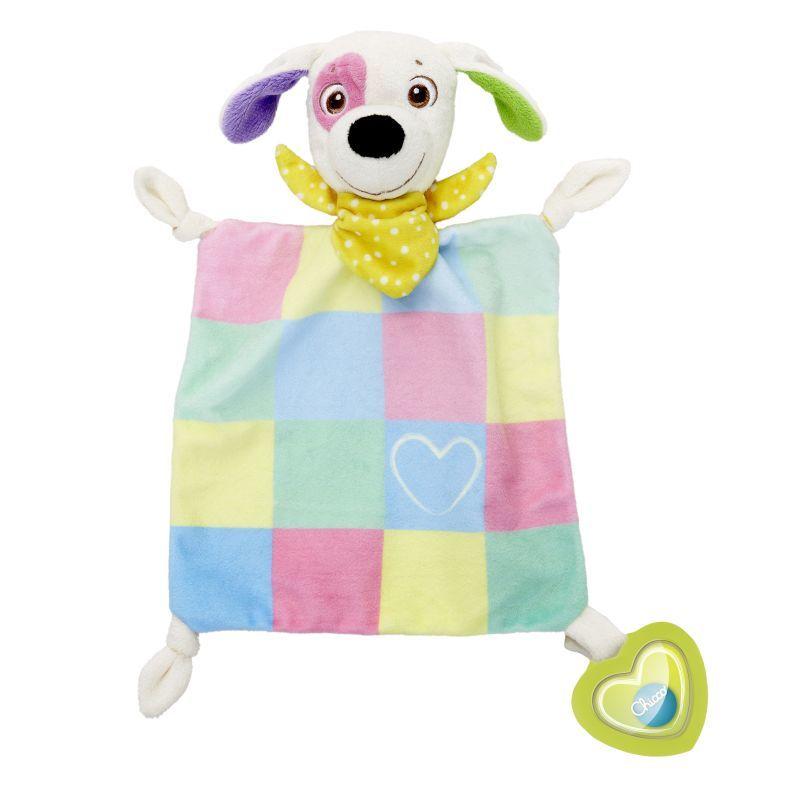 Chicco Charlie kutya szundikendő szívmedállal